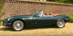 Classic 1973 Jaguar XKE