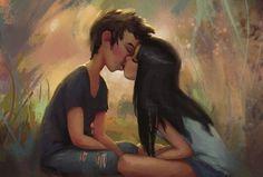 ragazzini che si baciano