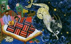 Bedtime, Phoebe Wahl 2013 From Taproot Magazine's issue DREAM #phoebewahl #taproot #taprootmagazine
