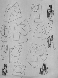 S.T. [Proyectos para construcción de maclas]. C. 1957.