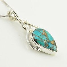 Image via We Heart It https://weheartit.com/entry/104883035/via/27986427 #turquoise #sterlingsilverpendant #artisancrafted #kejajewelry #bluecopperturquoise