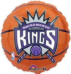 18'' Sacramento Kings Foil Balloon (Pack of 5)