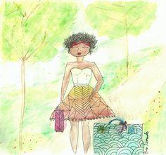 Ilustration: Viagem | A Filha Da Mãe