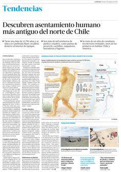 Descubren Asentamiento Humano Más Antiguo del Norte de Chile: Quebrada Maní, Iquique Interior | La Tercera - Agosto 9, 2013