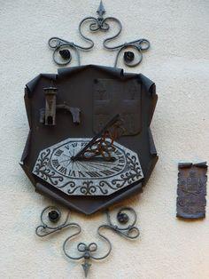 Reloj de sol de Lanzo Torinese, Piemonte, Italia