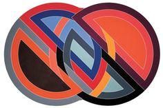 Frank Stella, Firuzabad, 1970, acrylic on canvas