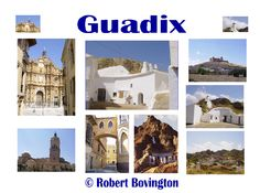 The troglodyte town of Guadix (Granada) - another day trip in 2003