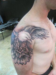 Elegant Eagle Tattoos