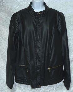 a n a Womens Plus Faux Leather Jacket Black size 2 X NEW  https://www.ebay.com/itm/n-Womens-Plus-Faux-Leather-Jacket-Black-size-2-X-NEW-/332578120309?var=&hash=item7e1e93394d