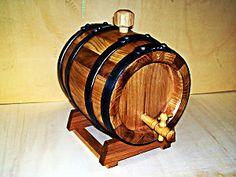 1958 - Botte in legno da 3 litri per invecchiamento grappa, nocino e distillati - Tel.0547 310171