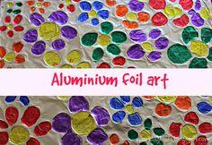 Flowers - Aluminium foil art - Sparkling Buds