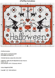 (2) Gallery.ru / Foto # 10 - Autunno, Zucca, Halloween_2/freebies - Jozephina Fall Cross Stitch, Cross Stitch Boards, Cross Stitch Samplers, Cross Stitching, Cross Stitch Embroidery, Learn Embroidery, Embroidery Patterns, Halloween Embroidery, Halloween Cross Stitches