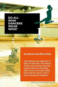 Do all Irish Dancers wear wigs? #InishfreeMexico Tania Martínez #IrishDancer #FunTrivia #Inishfree School of #IrishDancing ✨ #Academia de #DanzaIrlandesa #InishfreePedregal #InishfreeToluca #TeamInishfree #SoftShoes #Dance #Danza #Feis #Winishfree