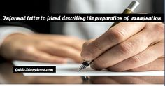In exams time, there is a lot excitement in students and also fear too. We ask with our friends about the preparation of exams. Sometimes, we also take helps of our friends in study. If we have any doubt in any subject.   #informal letter #Informal letter writing #letter to friend #preparation of examination