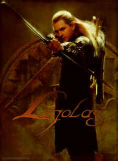 This is so cool. I love Legolas and Orlando Bloom.