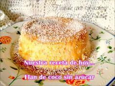 El dulce paladar: Flan de coco sin azúcar