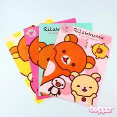 Buy Rilakkuma file folder with Free International Shipping | Blippo.com