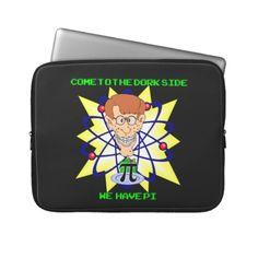 9c7dcbcad KRW Come to the Dork Side Pi Nerd Sleeve Laptop Sleeves Zodiac Cusp, Zodiac  Art