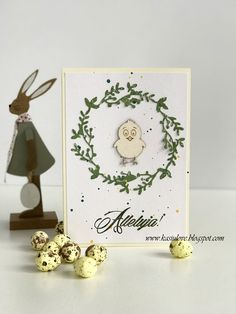 kartki na wielkanoc  easter cards Place Cards, Place Card Holders