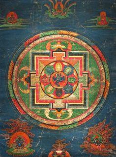 Hevajra Mandala. Tibet. 1600s.