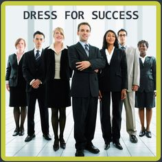 Proper attire when attending a career fair?  We must SHOW our students what it looks like!