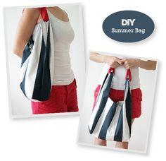 Living In: Summer Bag - Tutorial per cucire
