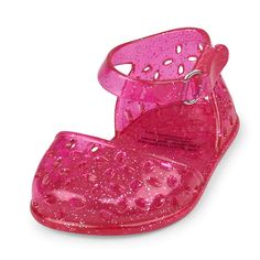 Newborn Girls Cutout Jelly Ballet Flat