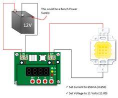 10W LED Basic Test