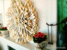 House Revivals: How to Make a Juju Hat Using Vintage Book Pages