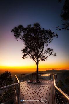 Amazing sunrise at Boroka Lookout by Oat Vaiyaboon