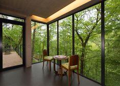 cabane dans les arbres, cabane perchée, cabane design