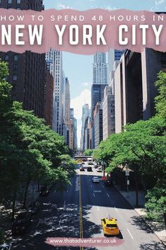Planning a New York trip? Make sure you check this list of things to do in New York City before you visit New York! This guide to 48 hours is perfect for things to do on a New York weekend New York Travel Guide, Usa Travel Guide, New York City Travel, Travel Usa, Travel Tips, Beach Travel, Travel Abroad, Budget Travel, Travel Guides