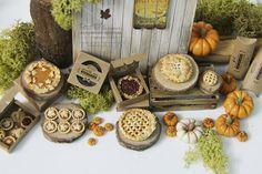 Dollhouse Miniature Fall Dessert 1/12thClassic by PetitDlicious