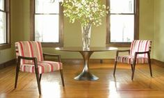 Round Rosewood Dining Table - Mecox Gardens