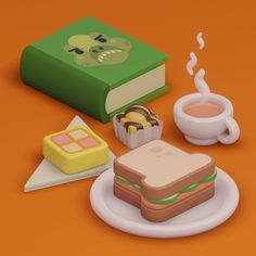 Paul Chambers, Salmon Sandwich, Butter Dish, Tea Cups, Sandwiches, Childhood, Sunday, Tasty, Kawaii Stuff