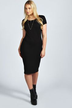 Lucy Short Sleeve Dress at boohoo.com