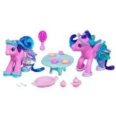 Hasbro My Little Pony Crystal Princess Sharing Tea with Tira-Mi-Su & Mochanut