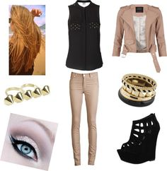 """""""tenue n°20"""" by pretty-fairy ❤ liked on Polyvore"""