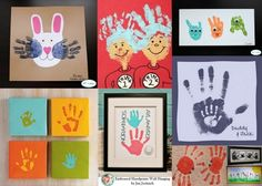 hand print crafts!