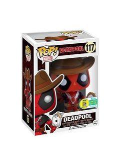 Deadpool Cowboy Vinyl Bobble-Head 117 - Funko Pop! van Deadpool