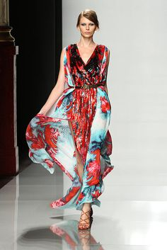 These prints from Emanuel Ungaro Spring 2012 are beautiful!