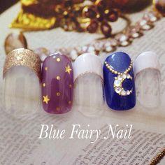 ネイル 画像 Blue Fairy Nail ブルーフェアリーネイル 千里丘 682170
