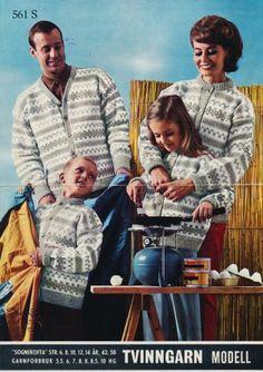 Sognekofta  i Peer Gynt eller Smart, gratisoppskrift på sandnesgarn.no Embroidery Patterns, Knitting Patterns, Norwegian Knitting, Vintage Knitting, Knit Crochet, Couple Photos, Books, Kids, Crocheting