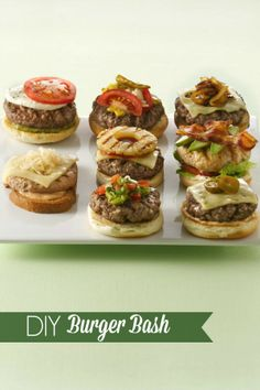 8 burger-licious ideas to help you break out of your routine!