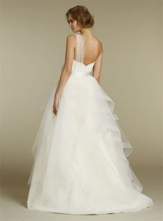 back view. Alvina Valenta Bridal Gowns, Wedding Dresses Style AV9216 by JLM Couture, Inc.