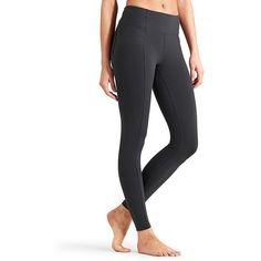Athleta Women Metro High Waisted Legging ($64) ❤ liked on Polyvore featuring flint grey and athleta