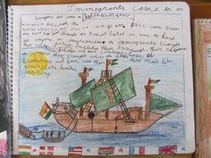 Grade 4 student lesson book.