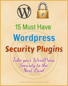 15 Essential WordPress Security Plugins