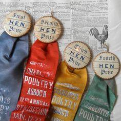 Poultry Prize Ribbons