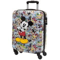 b943af6a40 Valigia Trolley Rigido ABS Mickey Mouse Comics - Jocando Borsa Disney,  Regalo Disney, Disney